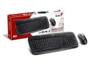 Genius SlimStar C110, drátový kit, USB (Slimstar 110 + NetScroll 200)