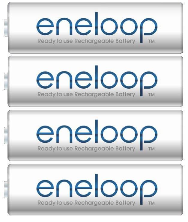 Panasonic Eneloop R6/AA 1900mAh, 4 ks, Box