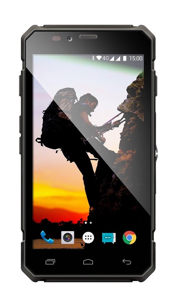EVOLVEO StrongPhone Q6 LTE, vodotěsný odolný Android Quad Core smartphone, dual sim