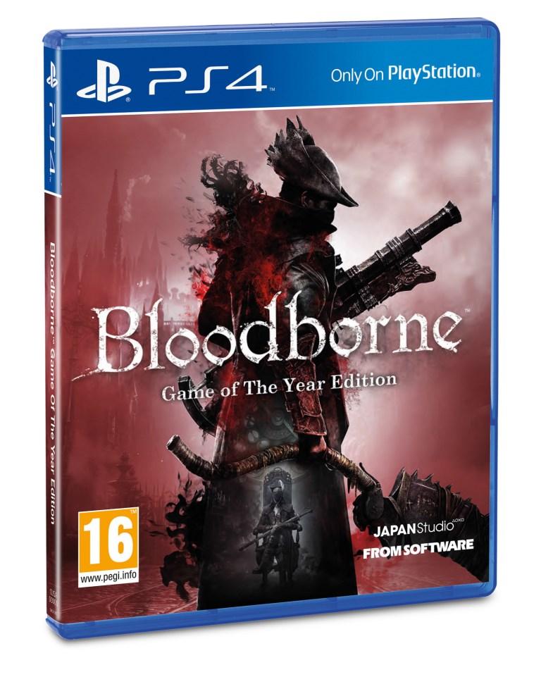 SONY PS4 hra Bloodborne GOTY