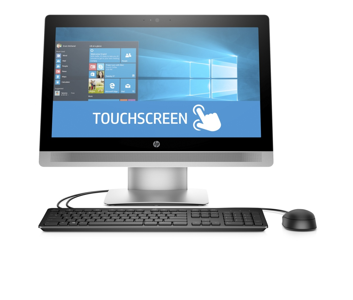 HP ProOne 600 G2 AiO 21.5 Touch / i3-6100 / 4GB / 500 GB / HD Graphics/ Win 10 Pro