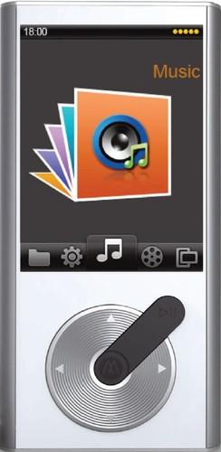 """MP 259/8GB/WH MP4 přehrávač,FM,2,4"""",micr"""