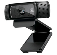 Logitech HD Webcam C920, 1920x1080, stereo mikrofon