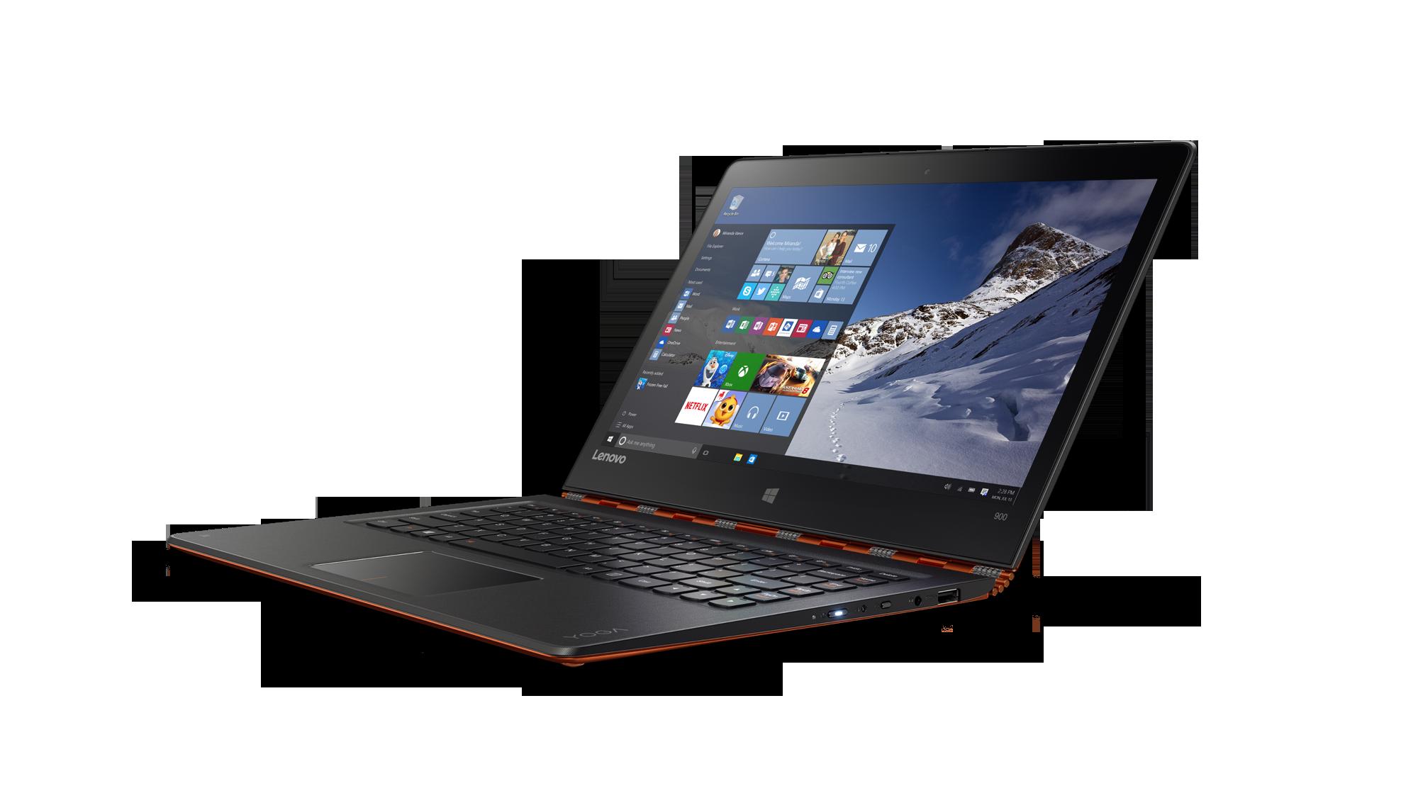 "Lenovo YOGA 900-13ISK i5-6200U 2,80GHz/8GB/SSD 256GB/13,3"" QHD+/IPS/multitouch/WIN10 oranžová 80MK00FVCK"