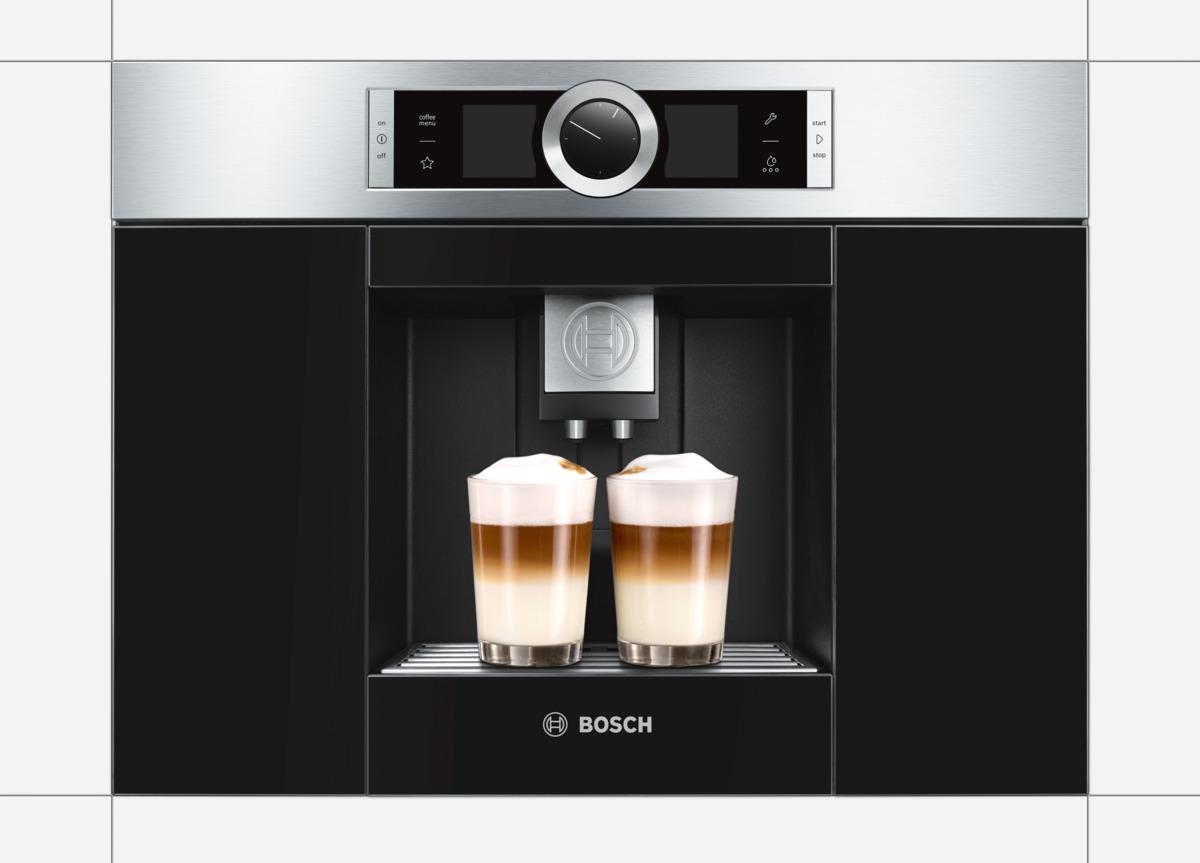 Vestavný kávovar Bosch CTL636ES1, nerez