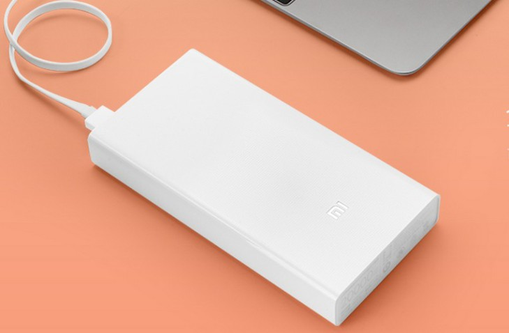 Xiaomi Power Bank 20000 mAh, 2x USB, white