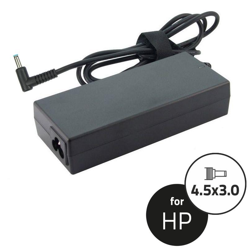 Qoltec Adaptér pro notebooky HP Compaq 90W | 19.5V | 4.62A | 4.5x3.0+pin