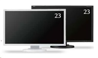 "NEC MT 23"" LCD MuSy E233WM White TN W-LED,1920x1080 DP+DVI+VGA"