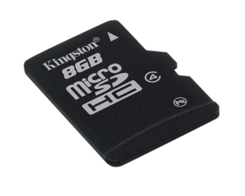 8GB Micro SDHC Kingston - class 4 (bez adaptéru)