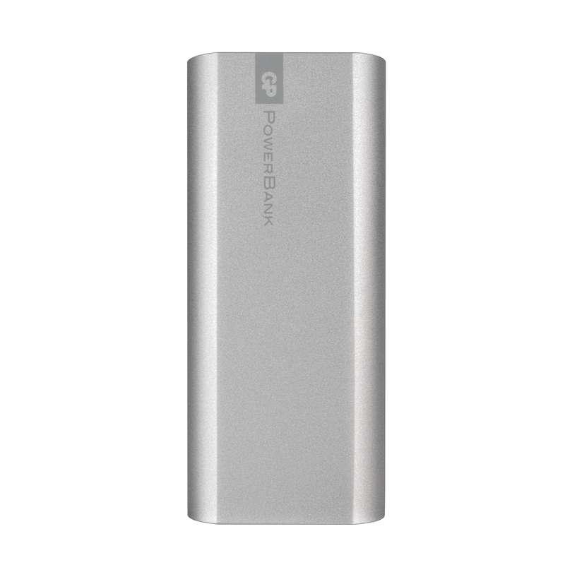 GP Powerbank FN05M-S, záložní zdroj 5200 mAh, 1x USB, 2.1A, stříbrná