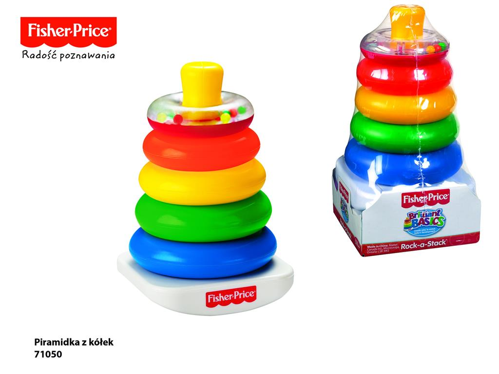 Fisher Price - Ring piramid