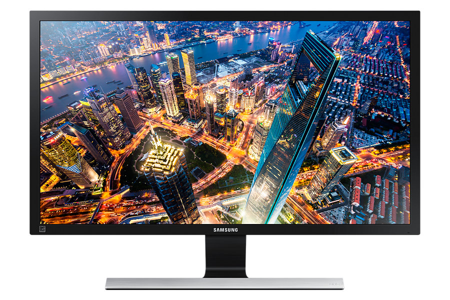 "Samsung LED LCD 28"" U28E590 - TN/3840x2160/1000:1/1ms/370cd/DP/2xHDMI"