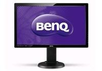 """BENQ MT LCD LED FF 24"""" GL2450HT D-Sub/DVI/HDMI 1920x1080, 5ms, 250cd/m2, DCR 12Mil. :1,, high adjust,black, VGA kabel"""