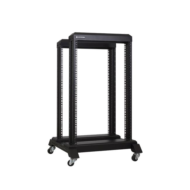 Linkbasic open rack stand 19'' 18U