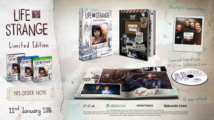 Square Enix Xbox One hra Life is Strange Limited Edition