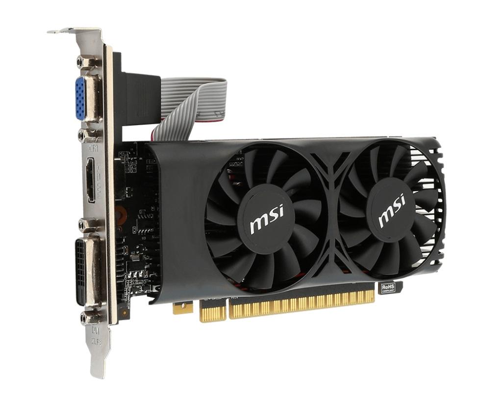 MSI N750Ti-2GD5TLP, 2GB GDDR5, 128 bits, DVI, VGA, HDMI