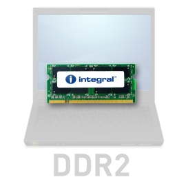 INTEGRAL 1GB 667MHz DDR2 CL5 R1 SODIMM 1.8V