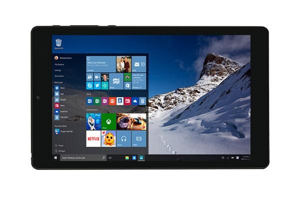 Umax VisionBook 8Wi Plus/8´´ Atom 1,8GHz QC/1280x800 IPS LCD/1GB/32GB/mSD/HDMI/WLn/BT/W10HE