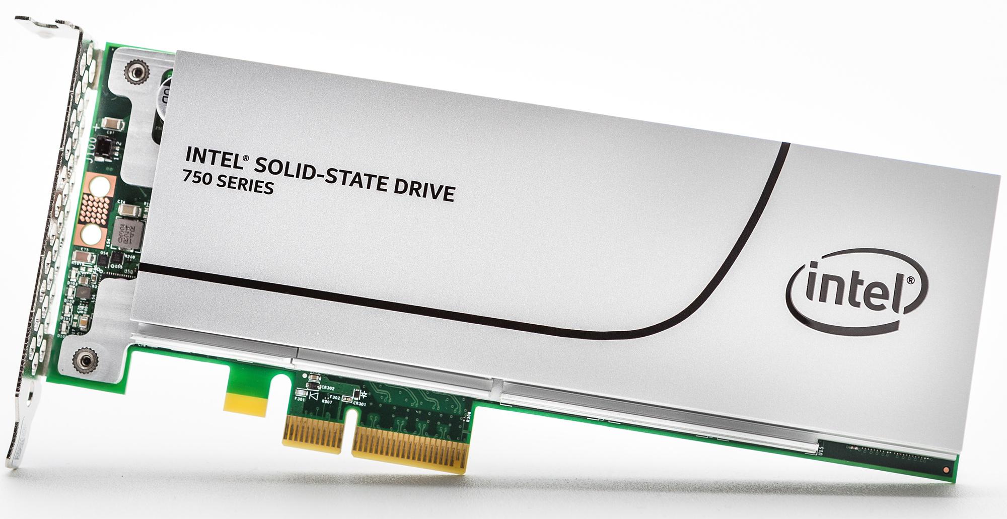 SSD 400GB Intel 750 series 1/2height PCIe 3.0 MLC