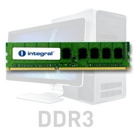 INTEGRAL 2GB 1066MHz DDR3 ECC CL7 R1 DIMM 1.5V