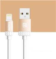 REMAX datový kabel 1m dlouhý , řada Lovely iPhon 5/6, barva oranžová