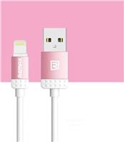 REMAX datový kabel 1m dlouhý , řada Lovely iPhon 5/6, barva růžová