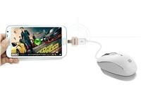 REMAX OTG micro USB / USB propojovací konektor , barva zlatá, stříbrná