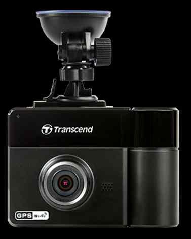 """Transcend DrivePro 520 duální autokamera, 2.4"""" LCD, Full HD 1080p, 32GB microSDHC, G-Senzor, Wi-Fi, s přísavným držákem"""