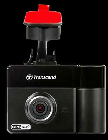 Transcend Car Video Recorder 32G DrivePro 520, 2.4'' LCD, Dual-lens, GPS, WiFi