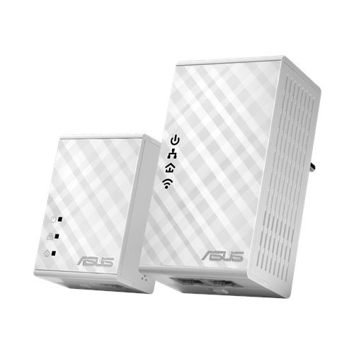 ASUS PL-N12 KIT 300Mbps AV500 Wi-Fi Powerline Extender(2ks)
