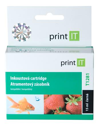 PRINT IT Kompatibilní cartridge Epson T1281 S22/SX125/420W/425W/OfficeBX305F/305FW