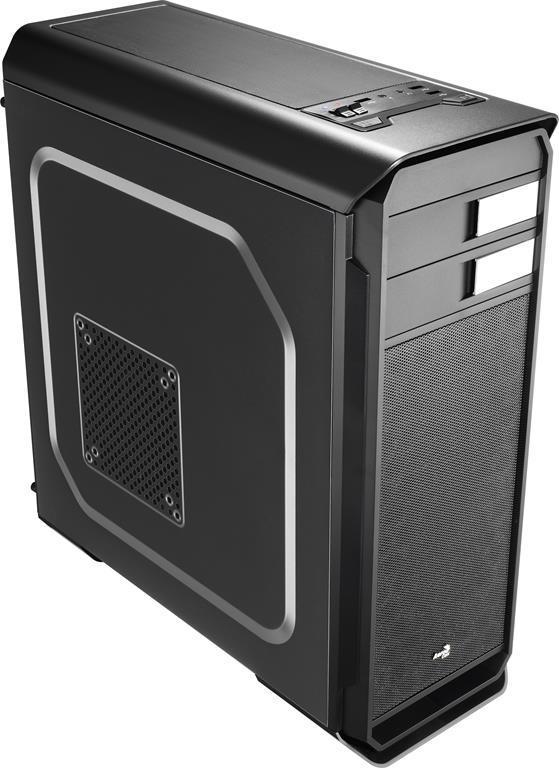 PC skříň Aerocool ATX AERO-500 BLACK, USB 3.0, bez zdroje