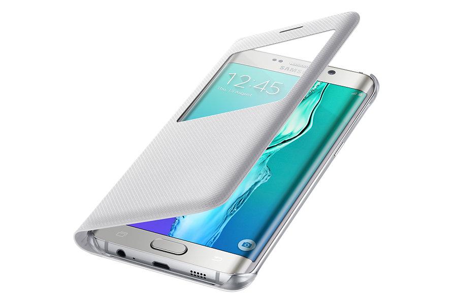 Samsung flip S View pouzdro pro S6 Edge+ Bílá