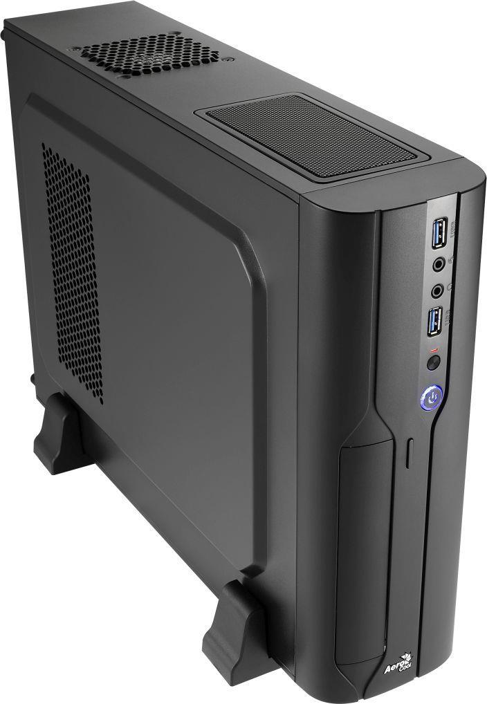 PC skříň Aerocool Micro-ATX PGS CS-101 BLACK, USB 3.0, bez zdroje