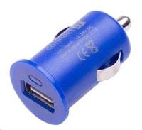 CONNECT IT auto adaptér 1xUSB 2,1A, modrý