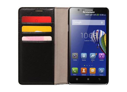 Pouzdro pro Lenovo Smartphone A536 Flip Case Black