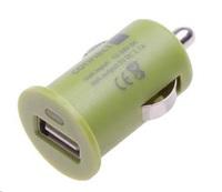 CONNECT IT auto adaptér 1xUSB 2,1A, zelený