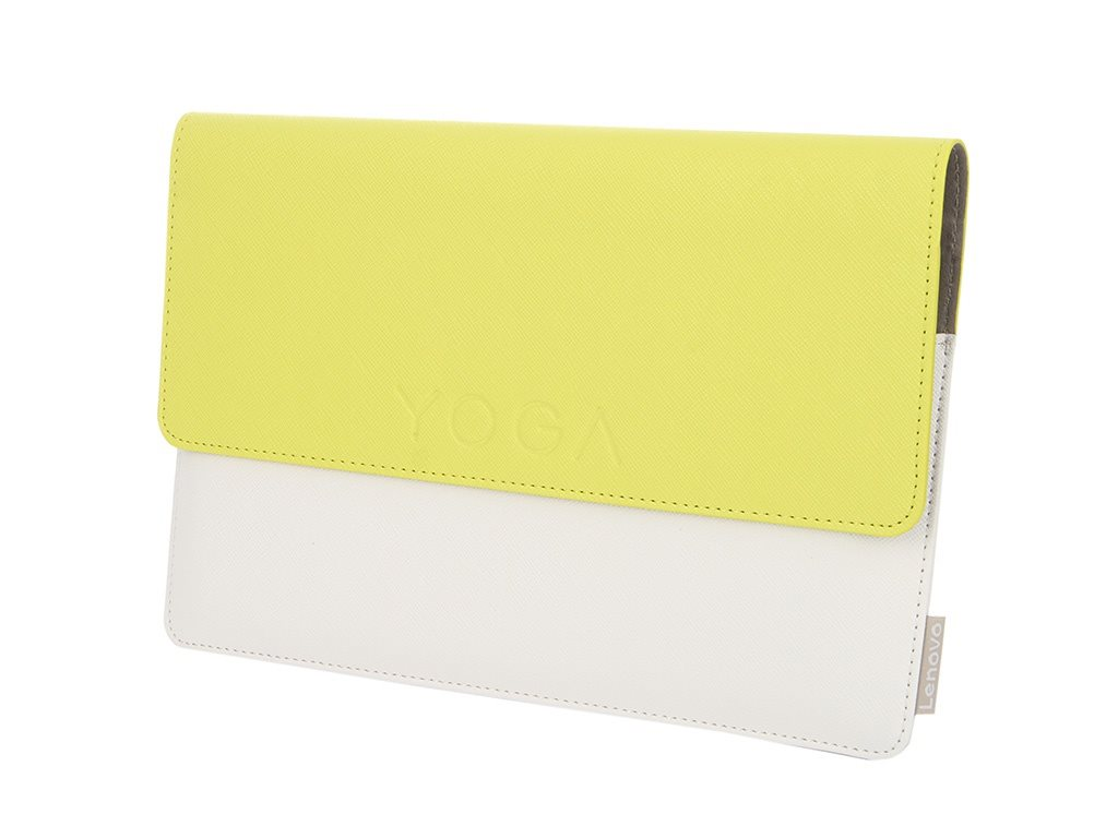 Yoga tablet 3 8 sleeve and film Yellow
