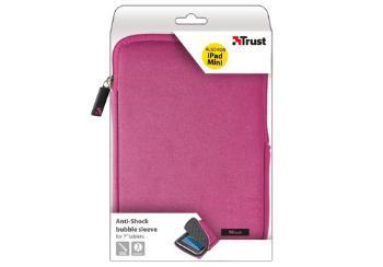"""TRUST Pouzdro na tablet 7"""" Anti-shock bubble sleeve - pink, růžové"""