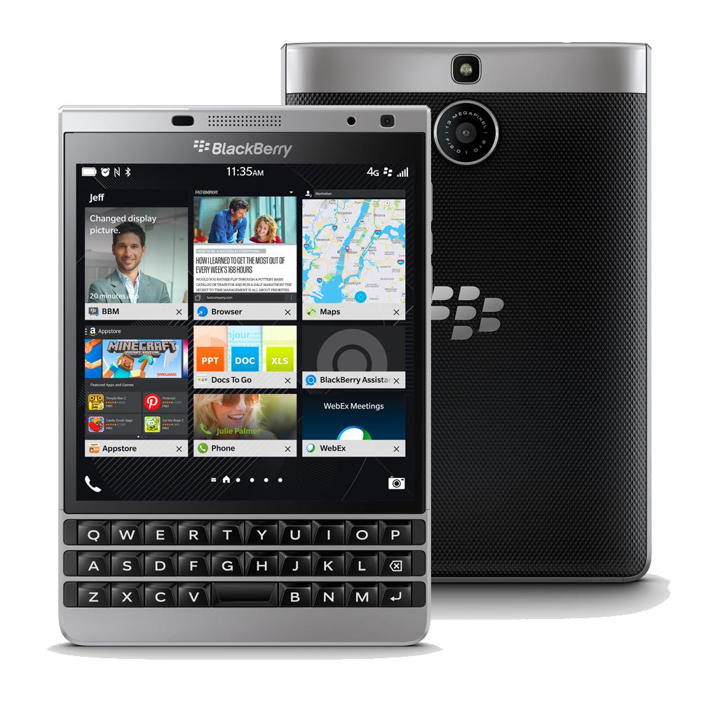 BlackBerry Passport QWERTY, Silver edition