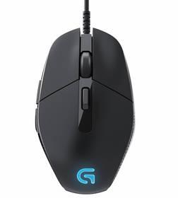 Akce!!! Logitech myš G302 Daedalus Prime, Gaming Mouse, 4000 DPI, laserová, 6 prog. tlačítek