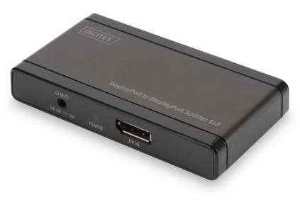 Splitter DisplyPort to HDMI 2-port, 4096x2160p 4K UHD 3D, HDCP1.3