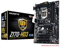 GIGABYTE Z170-HD3 (rev. 1.0)