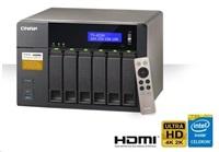 QNAP TS-653A-4G TWR 6x 2.5/3.5 SATA N3150 2.0 QC 4GB DDR3L 4xGigaLan