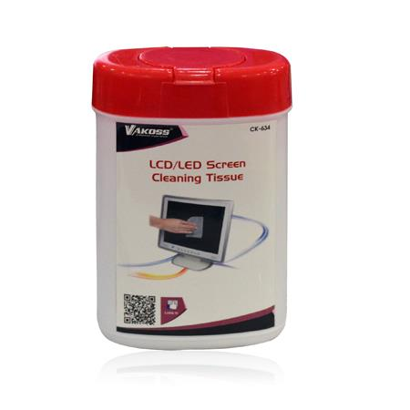 VAKOSS Čistící vlhčené ubrousky pro LCD / TFT 100 ks