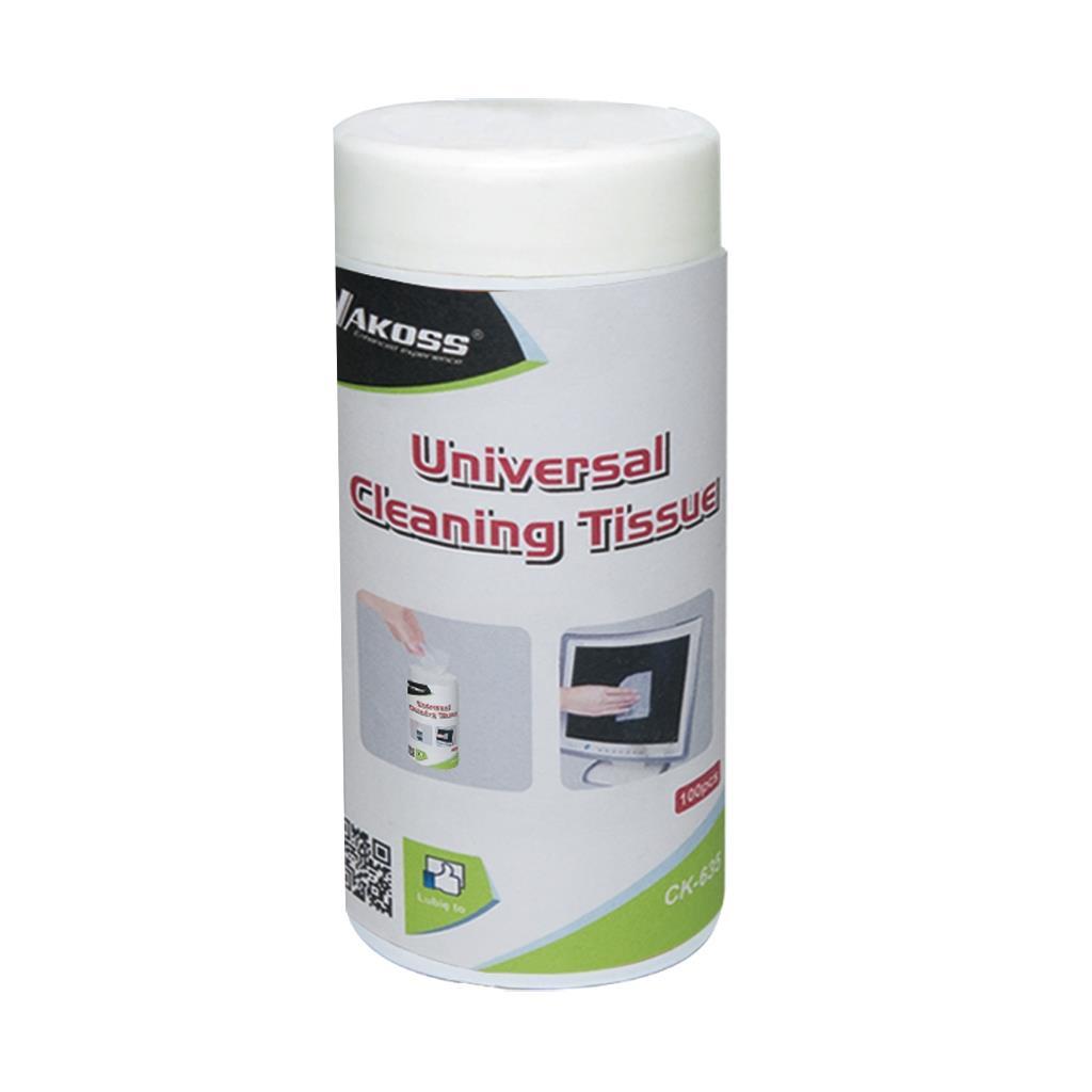 VAKOSS Univerzální čistící vlhčené ubrousky pro LCD / TFT 100 ks