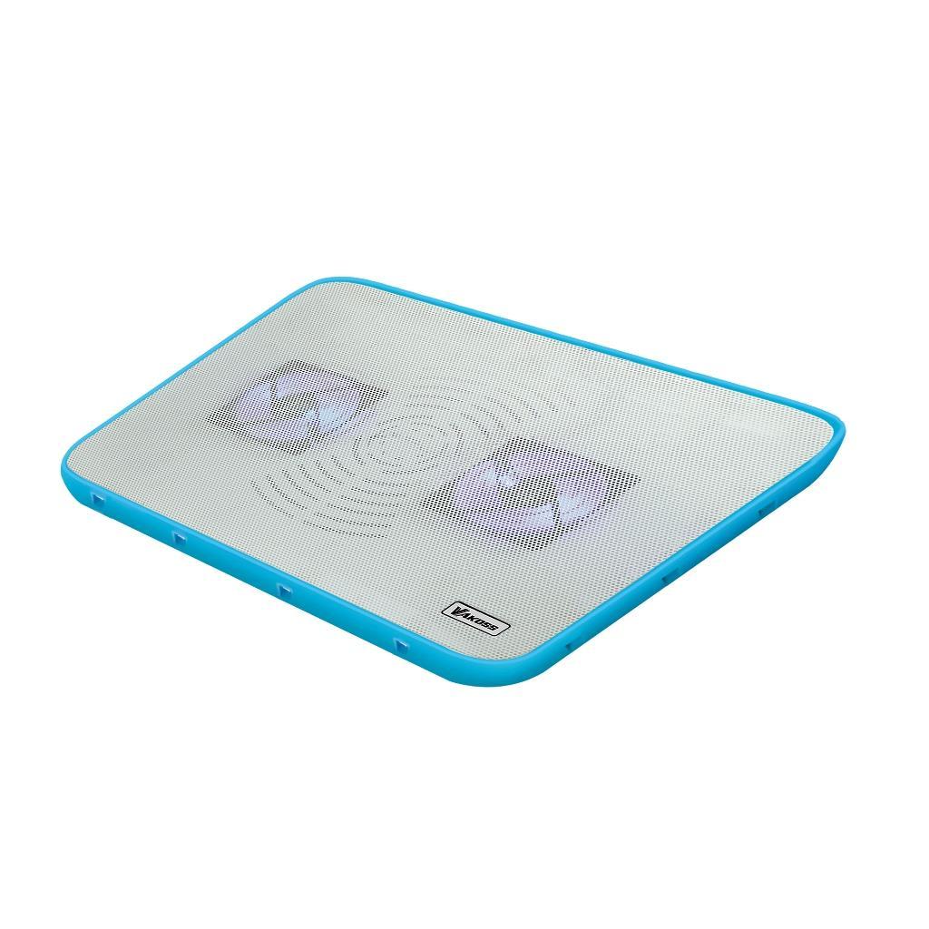 VAKOSS Chladící podložka pod notebook 17'' LF-2468 WB bílo-modrá