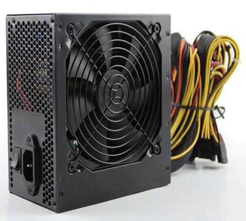 Crono zdroj 750W 80 plus Bronze, APFC, účinnost > 85%, 14 cm ventilátor