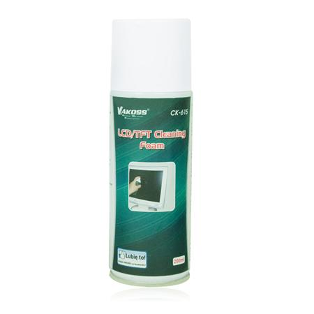 VAKOSS Čistící pěna na LCD/TFT 200 ml