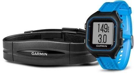 Garmin Forerunner 25 HR Black/Blue (vel. XL)